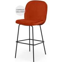 Safia Barstool, Flame Orange
