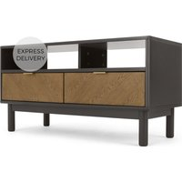 Belgrave Media Unit, Dark Stained Oak