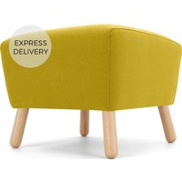 Product photograph showing Rubens Footstool Light Moss Green