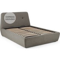 Edwin Super King Size Bed with Storage, Pavilion Marl Grey