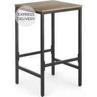 Lomond Bar Stool, Mango wood and Black