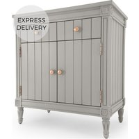Bourbon Vintage Sideboard, Grey and Copper