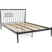 MADE Essentials Penn Kingsize Bed, Black