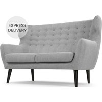 Kubrick 2 Seater Sofa, Pearl Grey