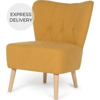 Charley Accent Armchair, Yolk Yellow