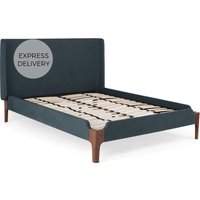 Roscoe Super King Size Bed, Aegean Blue