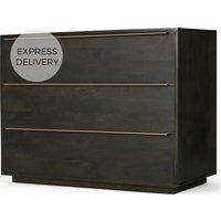 Anderson Chest Of Drawers, Mocha & Copper