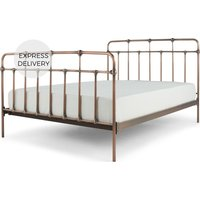 Starke Kingsize Bed, Copper
