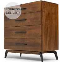 Lucien Chest of Drawers, Dark Mango Wood