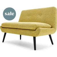 Jonny 2 Seater Sofa, Revival Yellow