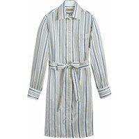 Burberry vestido camisero de seda a