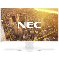 NEC MultiSync E271N - 69cm (27 Zoll), LED, IPS-Panel, Höhenverstellung, Pivot, DisplayPort, HDMI, VGA, weiß