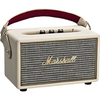 Marshall Kilburn (creme) - Tragbarer Bluetooth Lautsprecher (Vintage-Design, Bluetooth 4.0, 20 Std. Akku, 4