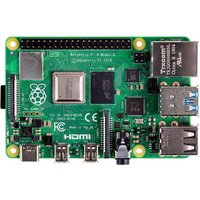 Raspberry Pi 4 Modell B 1GB ARM-Cortex-A72 4x 1,50GHz, 1GB RAM, WLAN-ac, Bluetooth 5, LAN, 4x USB, 2x Micro-HDMI