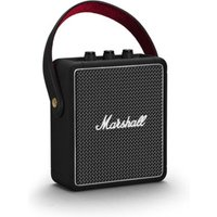 Marshall Stockwell II (schwarz) - Bluetooth-Lautsprecher (20W RMS, Bluetooth 5.0, AUX-In, Akku, USB-Ladefunktion)