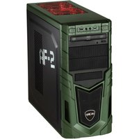 Hyrican Military PCK06424 Gaming-PC [i7-9700F / 16GB RAM / 480GB SSD / 1TB HDD / RTX 2060 SUPER / Intel H310 / Win10]