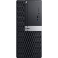 Dell OptiPlex 7060 MT 4W7V2 - Intel i7-8700, 8GB RAM, 256GB SSD, Intel UHD Grafik 630, Win10