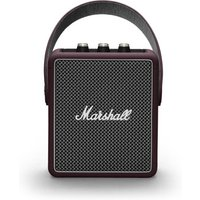 Marshall Stockwell II (Burgundy) - Bluetooth-Lautsprecher (20W RMS, Bluetooth 5.0, AUX-In, Akku, USB-Ladefunktion)