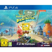 Spongebob SquarePants: Battle for Bikini Bottom - Rehydrated - F.U.N. Edition (PS4)