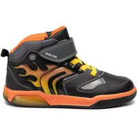 Geox Inek (J949CC0BU11) black/orange