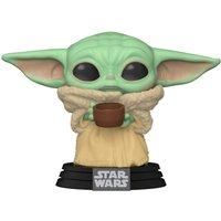 Idealo ES|Funko Pop! Star Wars: The Mandalorian Baby Yoda with Cup