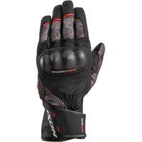 IXON Pro Russel Gloves Black/Khaki/Red
