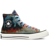 Idealo ES|Converse Tie Dye Plaid Chuck 70 High Top black/multi/egret