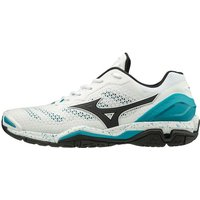 Mizuno Wave Stealth V 7 white/blue (X1GA1800-85)