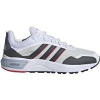 Adidas 93s Runner orbit grey/cloud ink/scarlet