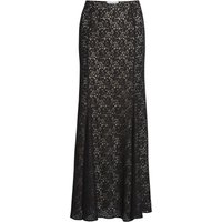 Lace fishtail maxi skirt