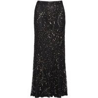 Beaded Fishtail Maxi Skirt