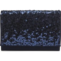 Sequin and Moss Crepe Bag