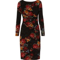 Antonia Floral Flock Dress