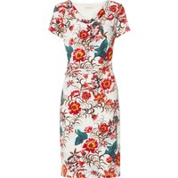 Barda Floral Cowl Dress