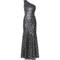 Beezus Sequin Flower Maxi Dress