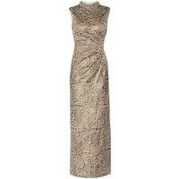 Alvira Maxi Dress With Beaded Collar