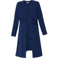 Lacey Moss Crepe Coat