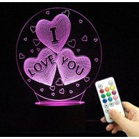 10 Color Changing Love Confession Best Gift LED Night Light