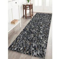 3D Gravel Printed Design Floor Mat