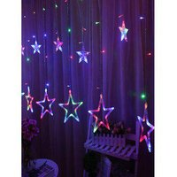 2.5 Meters Star Shape Decorative LED String Lights