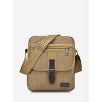 Retro Canvas Wear-resistant Messenger Bag