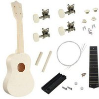 21 inch S Type Ukulele DIY Assemble Accessories Set Toy for Kids