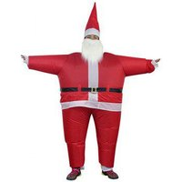 407 Inflatable Clothing Christmas Day Costume Santa Claus Stage Costume