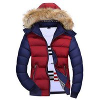 1065 Youth Fashion Hooded Cotton Coat