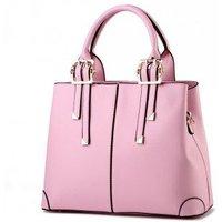 Women's Handbag Solid Faux Leather Unique Detachable Handle Versatile Bag