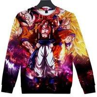2018 New DRAGON BALL Comic Sweatshirt