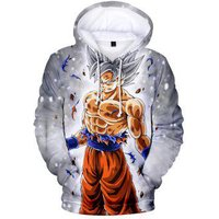 2018 New Dragon Ball Casual 3D Hoodie