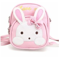 Girl's Cartoon Backpack Cute Rabbit Kids Bag