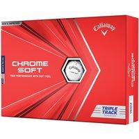 Callaway Chrome Soft Triple Track Golf Balls Multibuy x 3