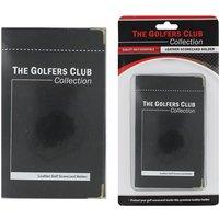 The Golfers Club Leather Scorecard Holder
